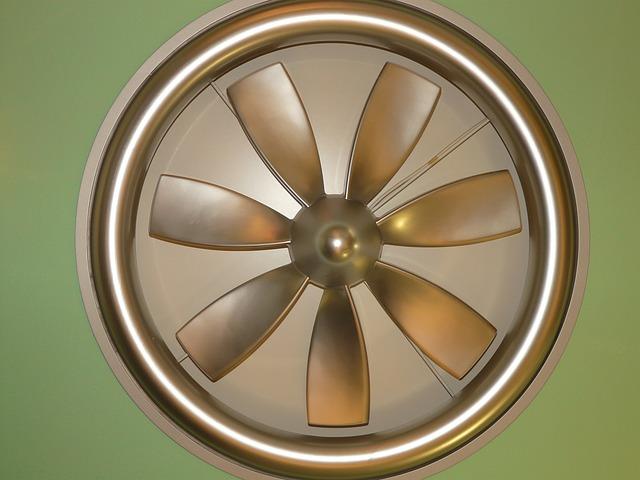 kulatý ventilátor