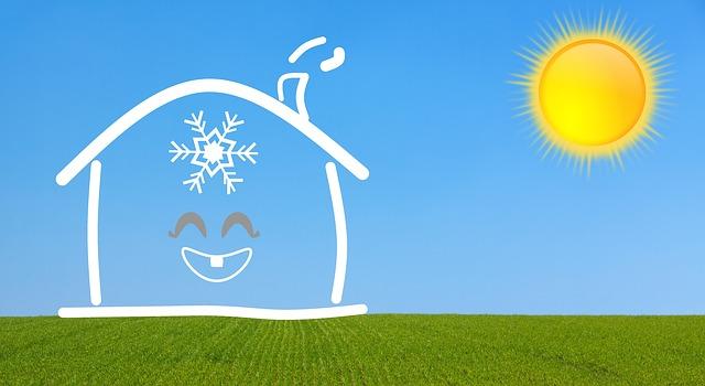 klimatizace v domě