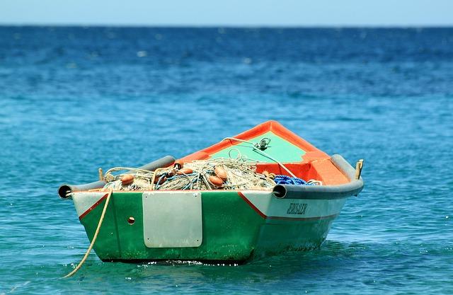 člun na rybaření