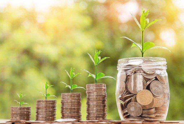 růst mince