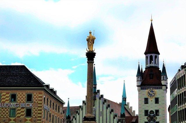 Mariánský sloup v Mnichově