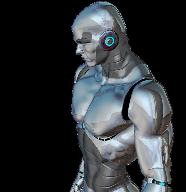 Robotický člověk budoucnosti